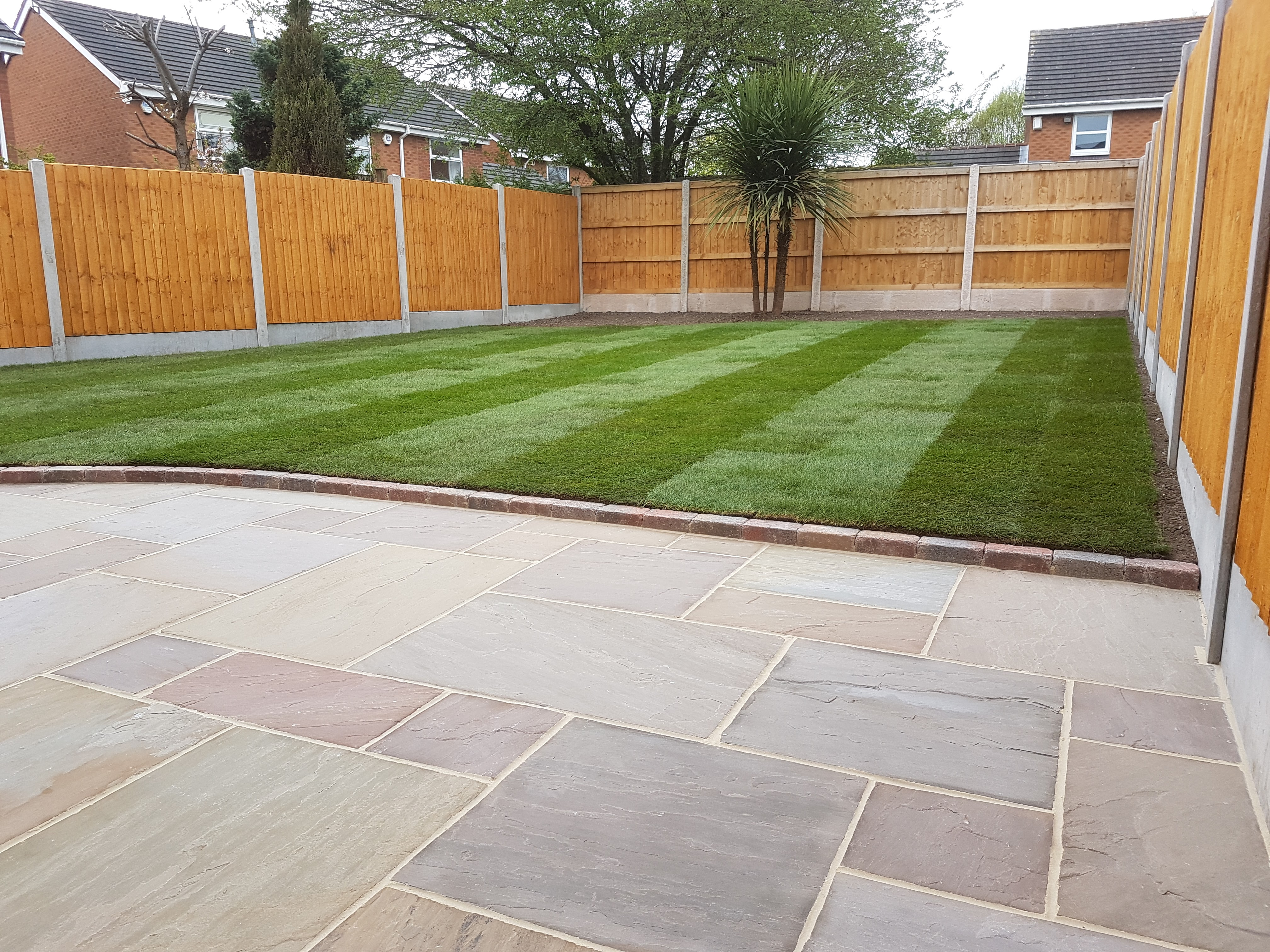 Landscapers in brewood