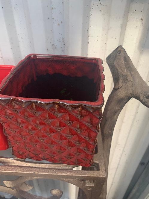 Dark Red Cube