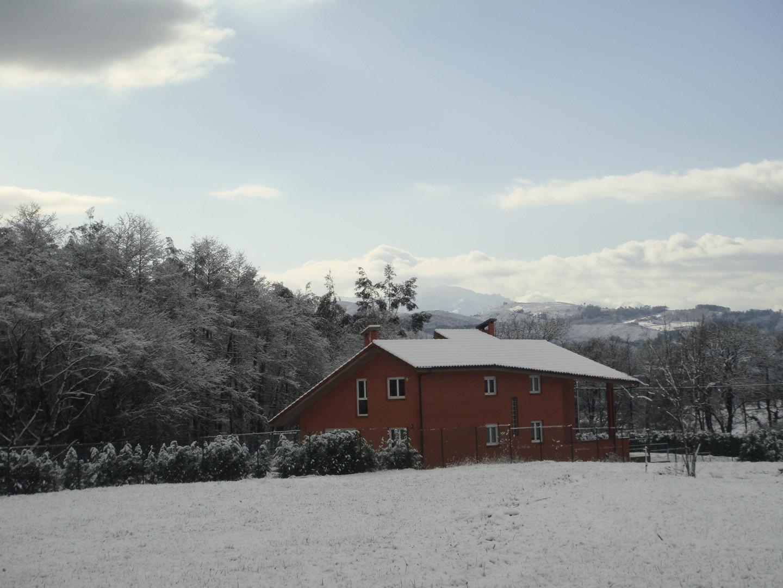 Casa Bosque Albite nevado