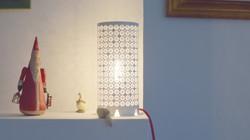 Habit à lampe à poser
