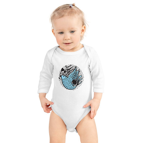 Star Baby Infant Long Sleeve Bodysuit