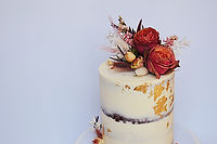 Roses Gold Leaf cake.jpg