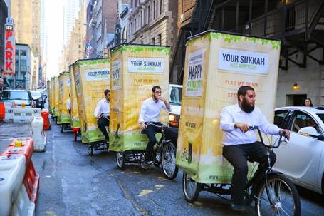 Mitzvah-cycle brings Sukkot to Jews