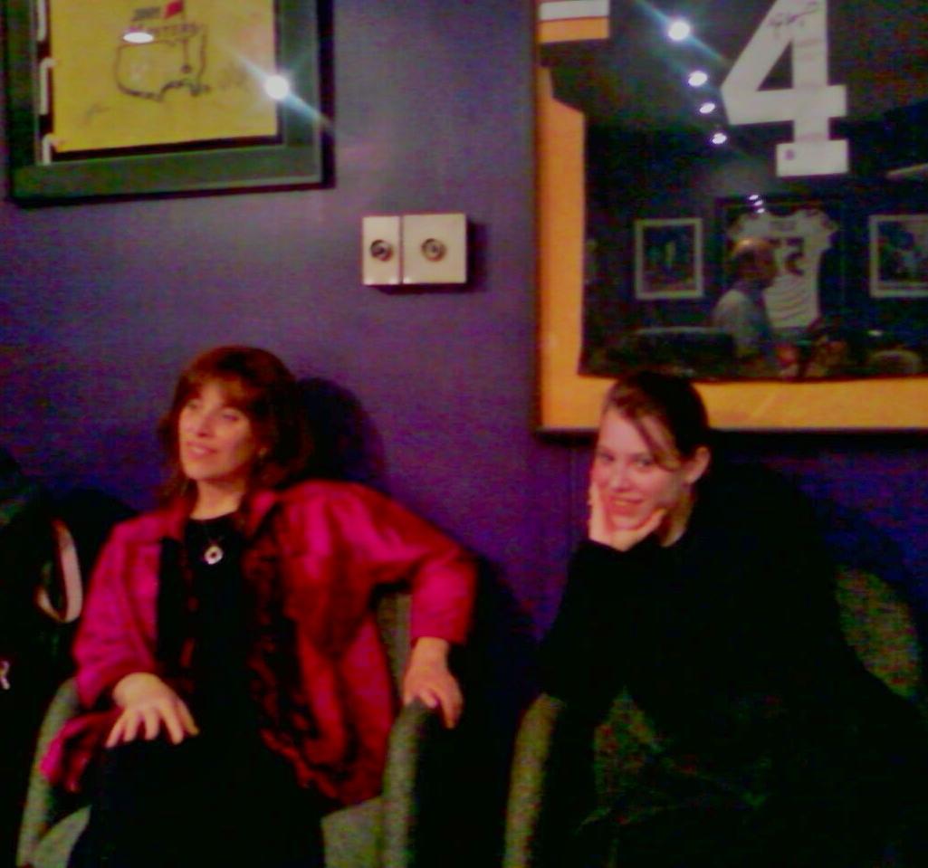 Stephanie & daughter Haiya in studio