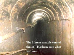 Massive tunnel assault plan thwarted