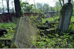 Tombstones used for roads returned