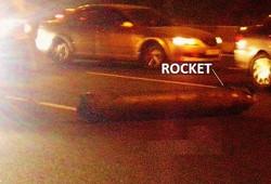 Car lane, bus lane...rocket lane??