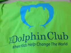 Dolphin Club tee shirt