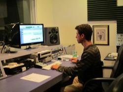 Dave V. in Studio B