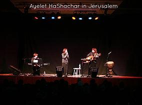 Ayelet Hashachar Jewish Women's Band in concert