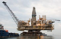 Rockets miss offshore gas well