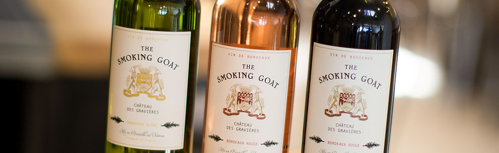The Smoking Goat restaurant house wine selection