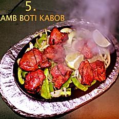 5.Lamb Boti Kabab