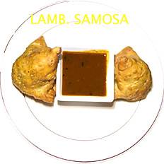 Lamb Samosa (two)