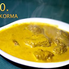 20. Lamb Korma