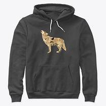 Wolf hoodie adult
