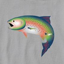 Trout shirt tshirt adult