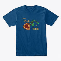 Wild and Free Sunflower shirt tshirt adult