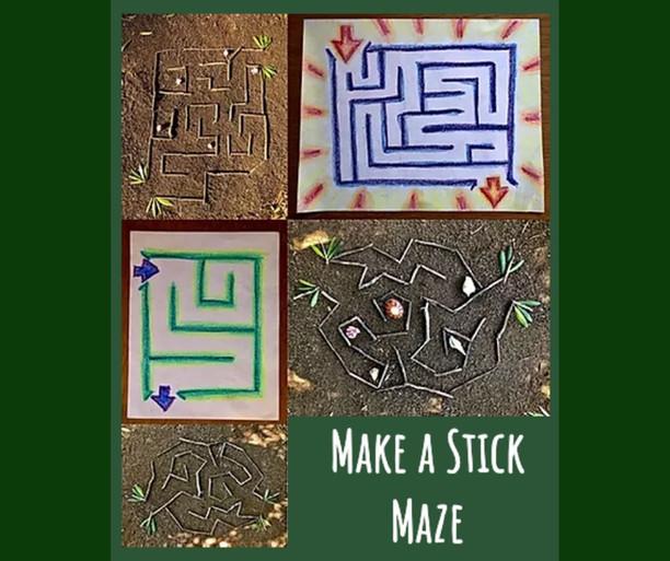 Stick Maze