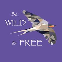 Wild Free Bird adult tshirt shirt