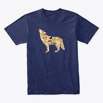 Wild wolf adult shirt