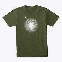 Dandelion shirt tshirt adult