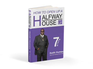 """How To Open Up A Halfway House"" Book Mock-up for Author Keith Humes / Josue Dezign"
