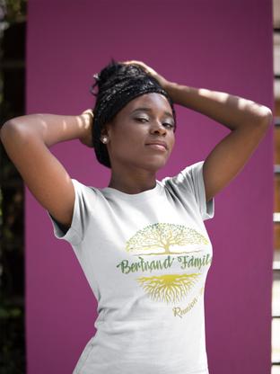 Bertrand Family Reunion - T-Shirt Logo Design Mock-Up / Josue Dezign