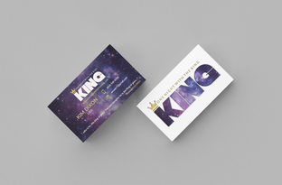 One Night With The King Business Cards