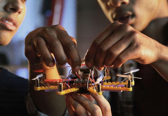 Agapeh Academy Children Building Drone.j
