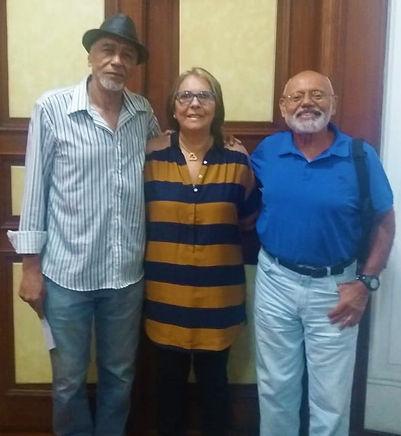 Mestre Valdenor, Prof. Simone e Mestre G