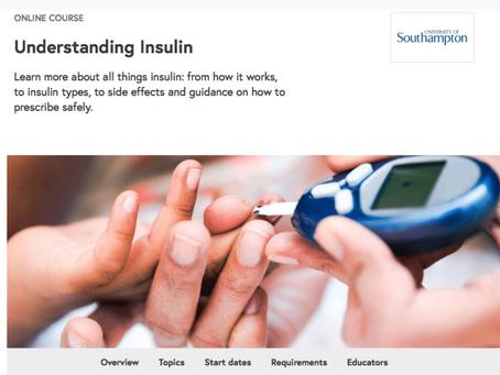 Become an E-Learning Mentor/ Facilitator - Understanding Insulin MOOC