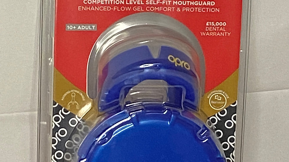 OPRO Mouthguard Gold - Adult
