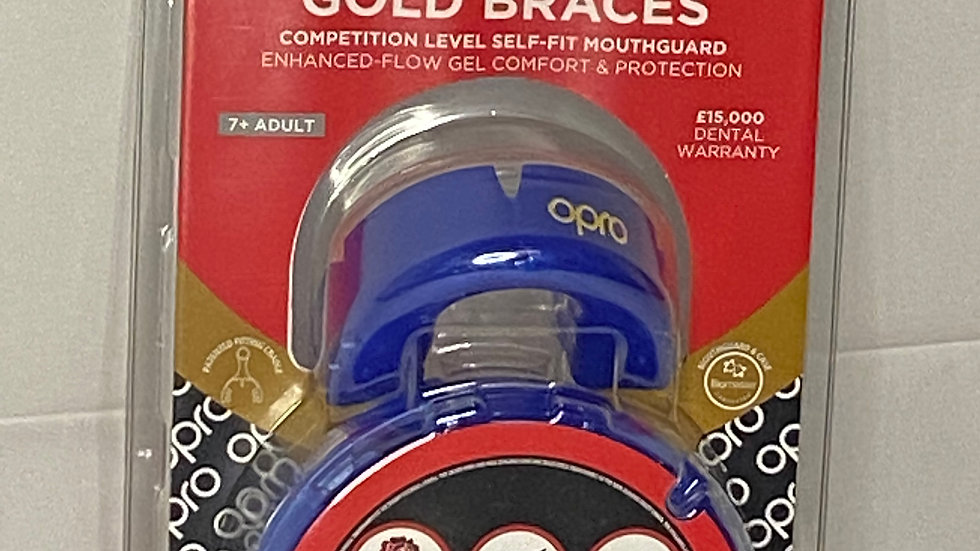 OPRO mouthguard GOLD Ortho 7 - Adult