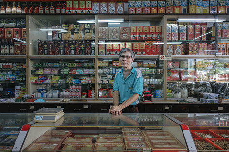 Traditional Chinese Medicine Shopkeeper