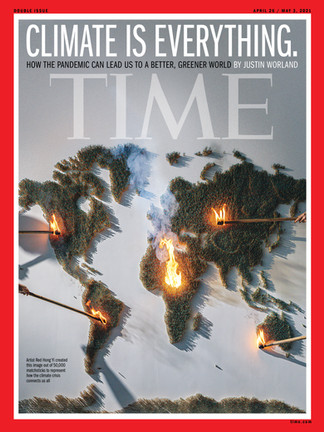 TIME's 'Climate Is Everything' Cover