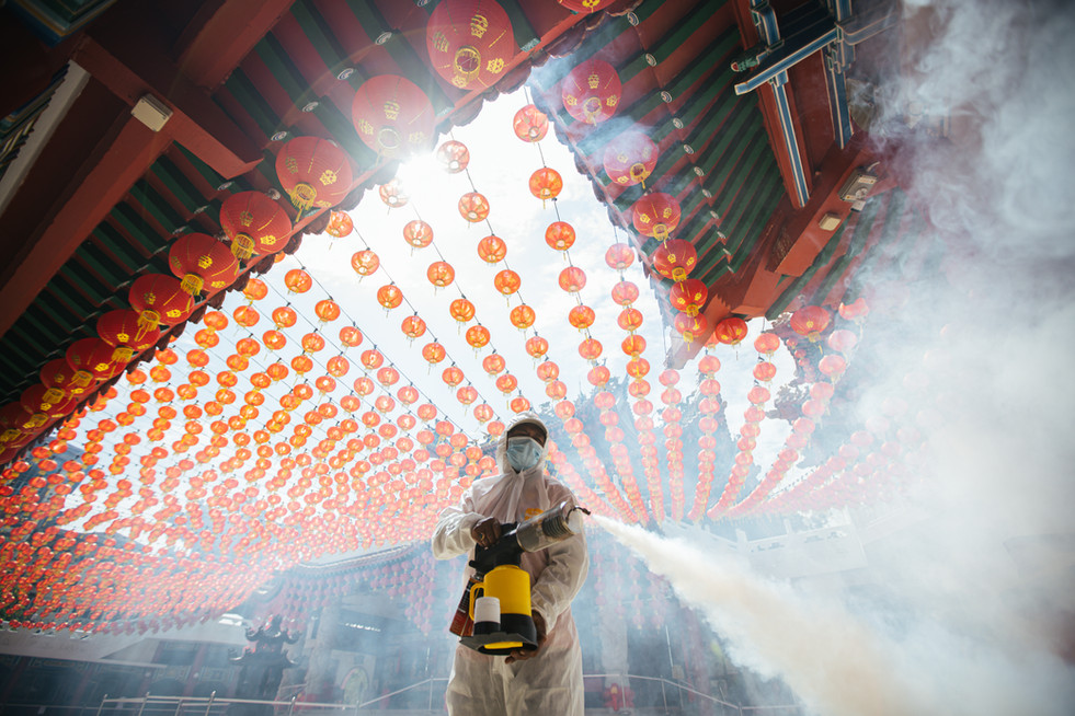 Lunar new year celebrations around the world – in pictures 2021