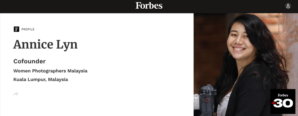 Forbes 30 Under 30 Asia - the Arts