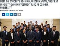 Meet the Students Behind BlackGen Capita