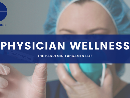 Physician well being during a pandemic