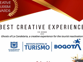 "Bogotá ganó premio internacional ""Best Creative Experience""."