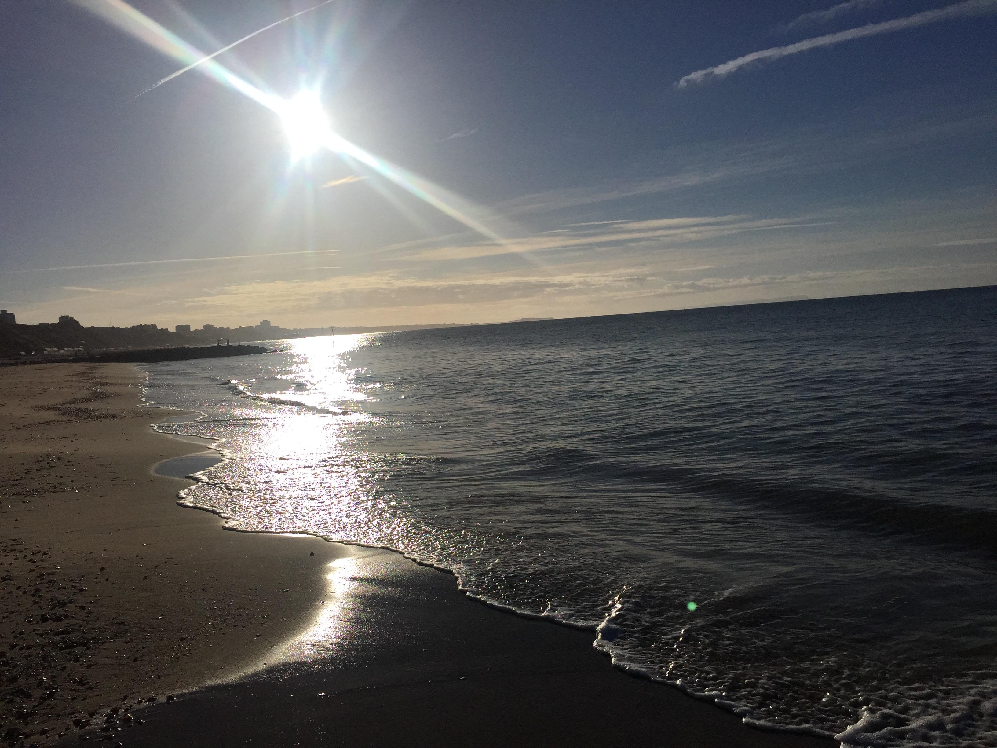 SUP2CF Bournemouth beach