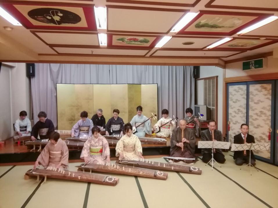弾き初め・賀城園(2018年)
