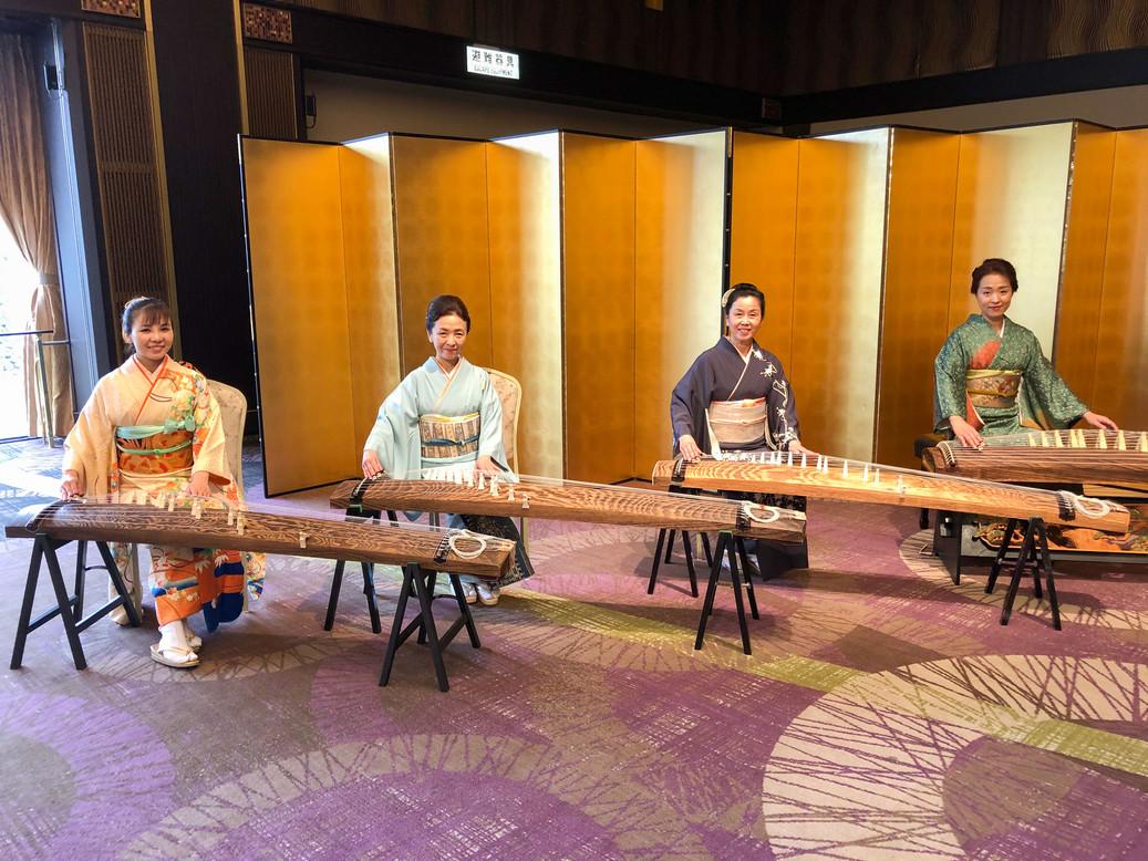 お花見喫茶(ホテルナゴヤキャッスル・天守の間)(2020年)