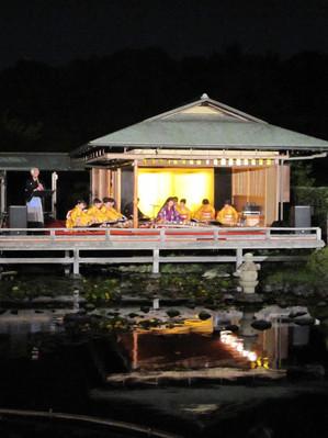 秋露祭(白鳥庭園)
