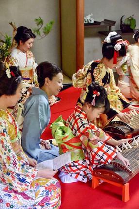 春姫茶会(名古屋城御深井丸茶席・書院)