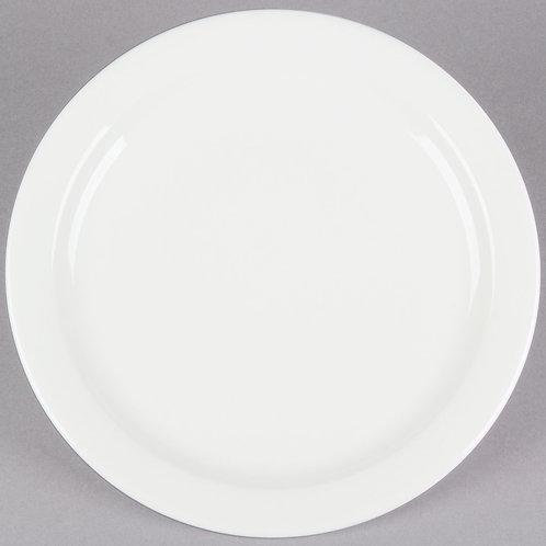 American White Cake Plate