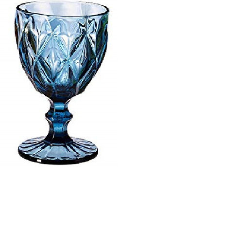 Blue Diamond Water Goblet