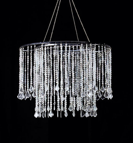 Assorted Crystal Acrylic Chandeliers