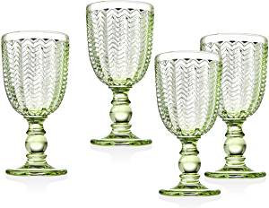 Lime Water Goblet